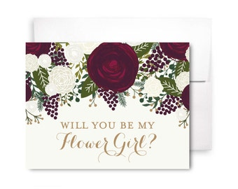 Will You Be My Bridesmaid Card, Bridesmaid Cards, Ask Bridesmaid, Bridesmaid Maid of Honor Gift, Matron of Honor, Flower Girl #CL158
