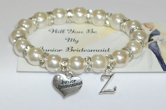 Wedding Gifts For Junior Bridesmaid : jr bridesmaid - personalized wedding - bridal party gift - bridesmaid ...