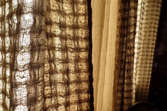Hnliche artikel wie bettw sche vorh nge paneele storen hochzeit geschenk nat rliche graue - Dekorative vorhange ...