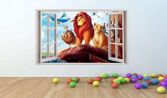 Lion King Window Decal