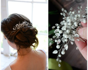 Bridal hair comb, Bridal headpiece, Wedding hair comb, Wedding headpiece, Bridal hair piece, Wedding hair piece, Bridal head piece