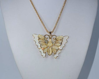 Butterfly Necklace elegant woman