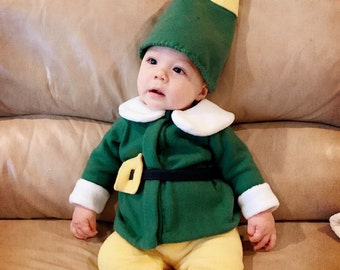 Baby Elf Costume - Elf Costume - Kid's Costume - Child's Halloween Costume - Infant Halloween Costume - Baby Halloween Costume