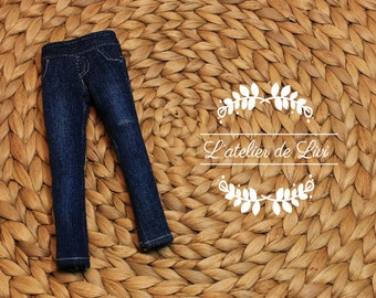 NEW! jeans elastic and worn for similar our doll blythe