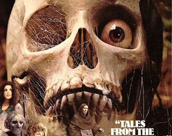 Tales From the Crypt 1972 Movie Poster - Ships FREE