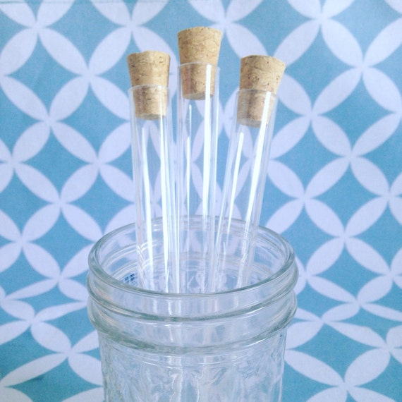 200 x 15ml plastic test tubes with corks 6 clear tubes for Glass test tubes for crafts
