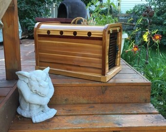 Cedar Medium Small Crate