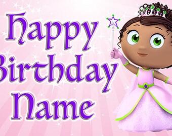 Super Why Princess Presto Birthday Banner