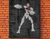 Minimalism Art - Cyborg P...