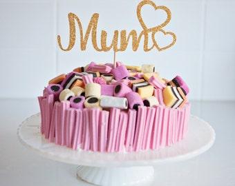 Mum Cake Topper, Mother's Day Cake Topper