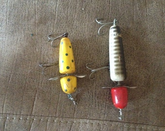 Two Great a Vintage PFLUEGER GLOBE Fishing Lures