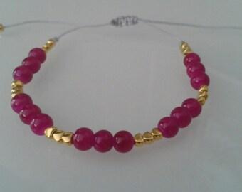 Bracelet #4 - Gray Nylon cord 1mm