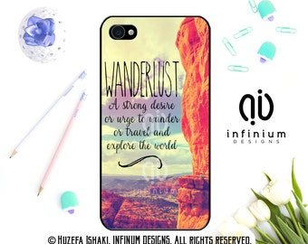 Wanderlust Case For iPhone 7, 7 Plus, iPhone 6S, iPhone SE, iPod Touch 6, iPhone 6 Plus, iPhone 5S & iPhone 5C Case