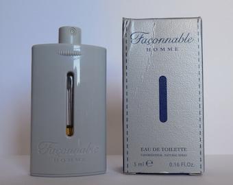 Miniature perfume FAÇONNABLE man