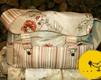 Layer bag big old flowers