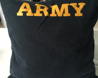 United States Army T-shirt Pillow