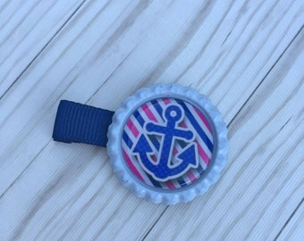 Hair Clip, Bottle Cap Clip, Bottle Cap Bow, Hair Accessories