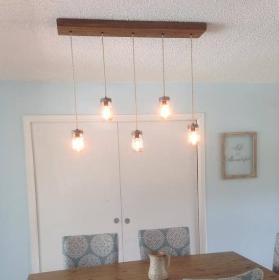 14 Light Diy Mason Jar Chandelier Rustic Cedar Rustic Wood: 5 Light DIY Mason Jar Chandelier Rustic Wood Chandelier