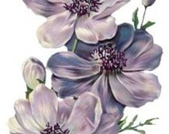 Flowers - Temporary tattoo