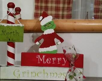 Merry Grinchmas Decoration