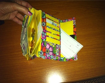 Duck Tape Wallet--customized,lightweight and multi card/pocket FREE SHIPPING!