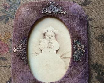 Victorian Post Mortem Cabinet Card