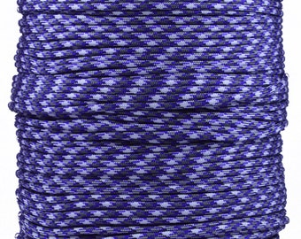Passion Purple - 1000 Foot Spool - 550 Paracord for Paracord Crafts - Made in the United States