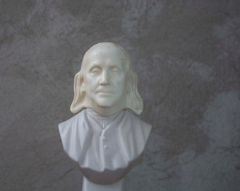 Vintage Benjamin Franklin Cologne Bust