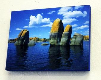 Watson Lake, Prescott AZ Dye Sublimation Wall Art