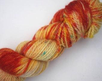 Aran - 100% British Bluefaced Leicester (superwash) yarn