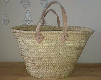 Straw bag wicker bag straw tote moroccan basket straw basket
