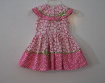 Vintage style Toddler Dress size 3