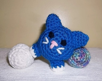 Child's Kitty Cat, Baby's 1st Kitty Cat, Amigurumi Kitty Cat, Crochet Kitty Cat, Cat Toy