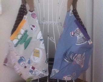 Tote Bag, Beach Bag, Baby Bag, Shopping Bag, Holiday Bag, Fold away Bag, Knitting bag