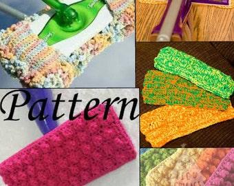 Crochet Mop Cover set of 4 - Reusable