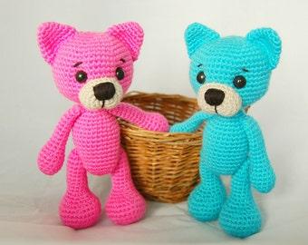 Crochet PATTERN - Cat Ari (amigurumi, crochet)