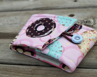 Cup Holder - Cup Sleeve - Reusable Coffee Sleeve - Coffee Cup Cozy - Coffee Cozy - Frosted Donuts - Gift Idea for Mom - Gift Under 10
