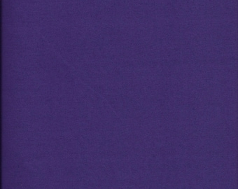 New Painters Palette Amethyst (Dark Purple) Solid 100% Cotton Fabric by theYard and half yard
