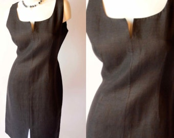 Bill Blass 80s Vintage Little Black Dress