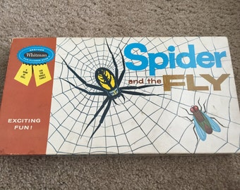 Spider and the Fly Board Game 1962