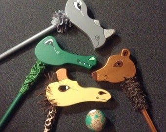 Animal Theme Croquet Mallets & Balls
