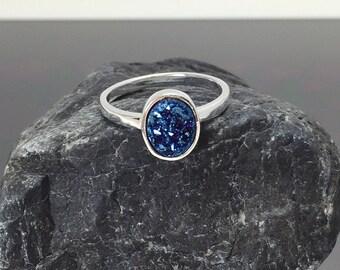 Druzy Ring,Drusy Ring,Druzy Quartz,Agate Ring,Stone ring,Gemstone ring,Sparkle ring,Stacking,drusy,Druzy,Silver ring,Giftsidea,Silver,Rings
