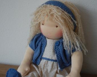 Waldorf doll, Steiner doll, 15inch doll