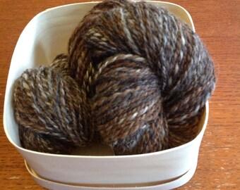 Handspun Yarn - Alpaca worsted weight