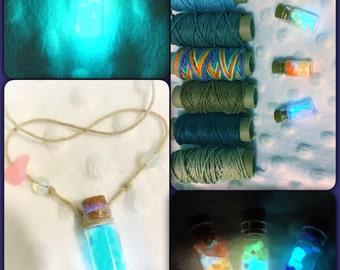 Rare glow rocks necklace, pokemon