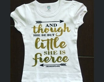 And though she be but little she is fierce
