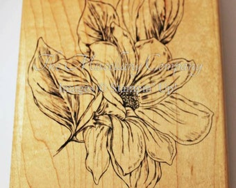 From the Garden~Background Stamp (retired Stampin' Up!)