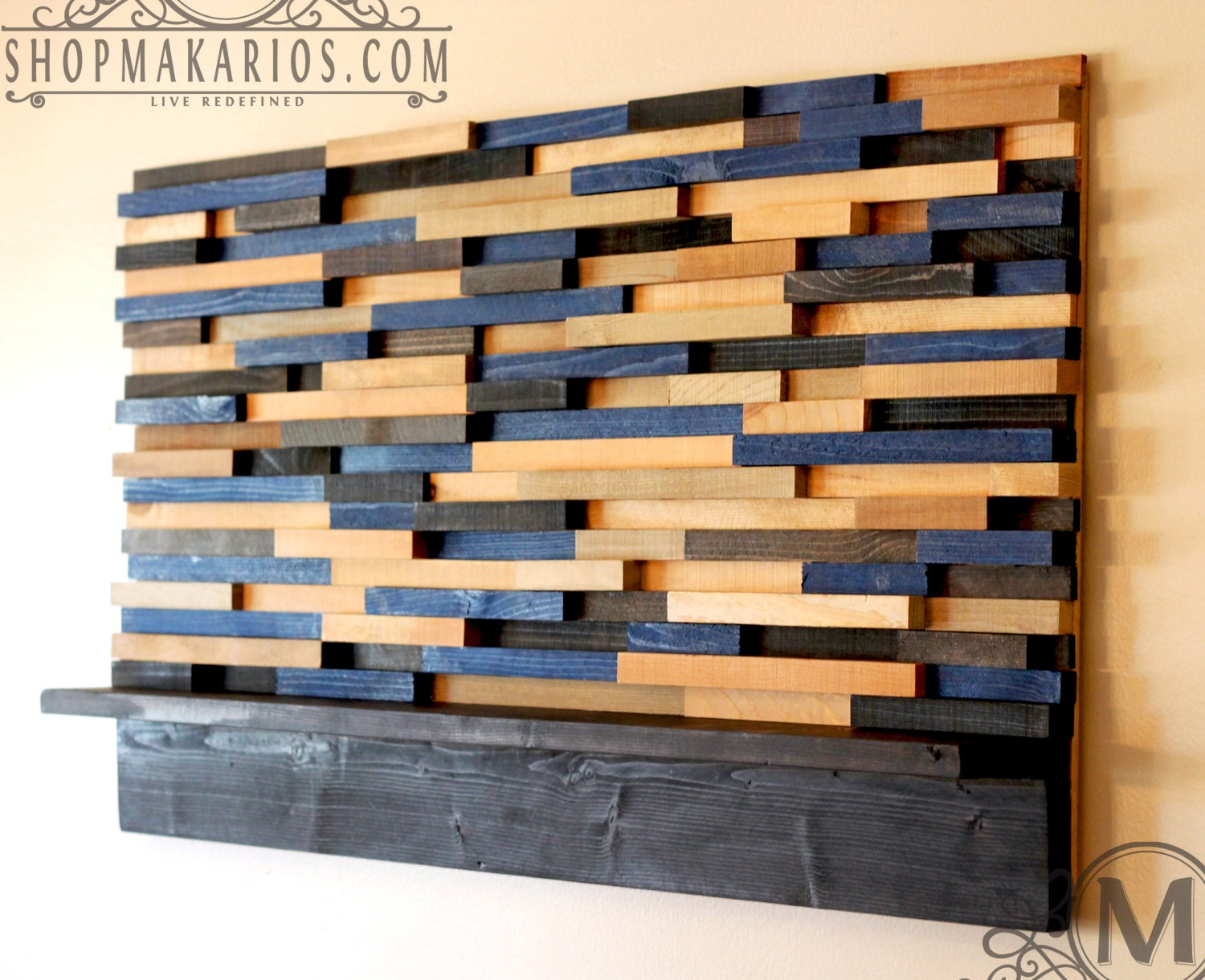 wood wall wood wall by makariosdecor. Black Bedroom Furniture Sets. Home Design Ideas