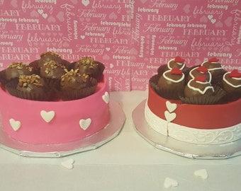 Red Velvet Cake Boxes