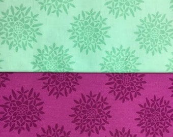 Canyon Sedum ~ Aloe & Amethyst ~ fabric by Kate Spain for Moda fabrics, 1/2 metre